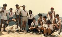 1988 - Clan Orione alla Madonna di Pollino