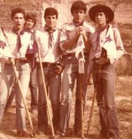1978 - Reparto Sagittario - Mustangs, Lupi, Falchi e Volpi... le 4 squadriglie maschili