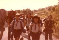 1980 - Route di Clan Orione ad Avigliano