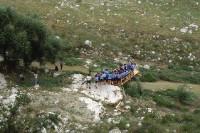 1989 - e gli alisei soffiano pure sul ponte sul torrente Gravina a Matera