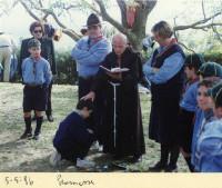 1996 - Promesse con Padre Fiorenzo - Branco Airone