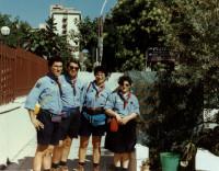 1997 - Via D'Amelio a Palermo - Route Nazionale delle Comunità Capi